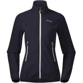 Bergans W's Lovund Fleece Jacket Dark Navy/Aluminium
